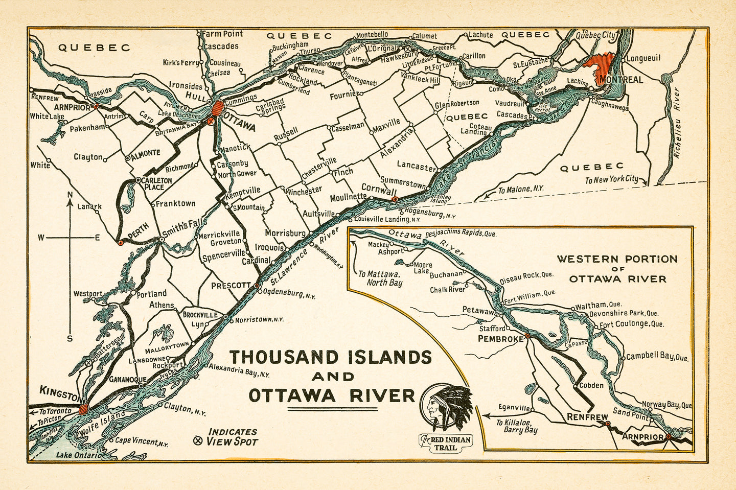Red Indian Trail - Thousand Islands & Ottawa River