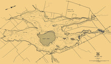 Balsam Lake Bathymetry Map