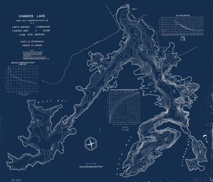 Chandos Lake - Bathymetry Map - North Kawartha