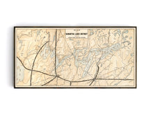 Kawartha Lakes Region - Grand Trunk Railway Map from 1908