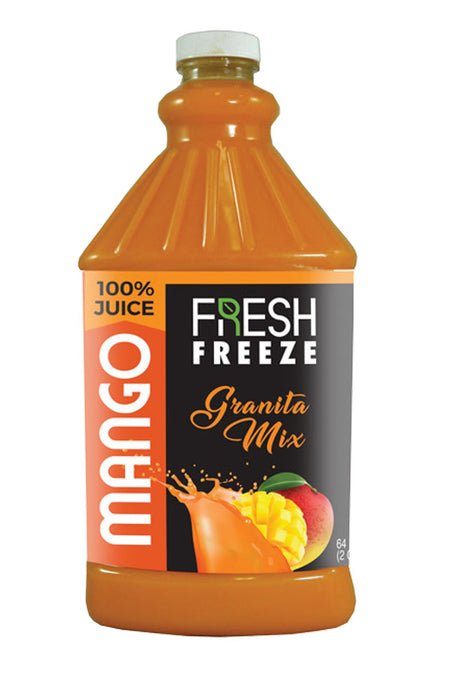 Fresh Freeze 100% Granita Mix Mango 6 x 1/2