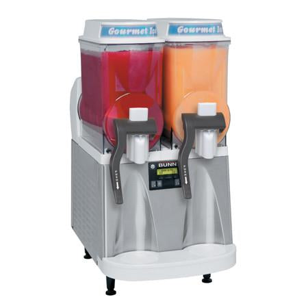 Ultra-2 WHT/SST CFV Liquid Autofill Ultra™ Frozen Beverage System W/2 Hoppers Internal Brixing 34000.0521