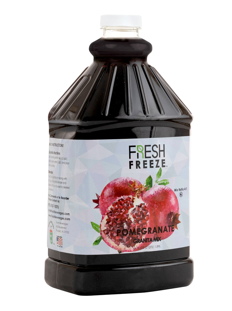 Fresh Freeze Granita Pomegranate Syrup Mix 6 x 1/2