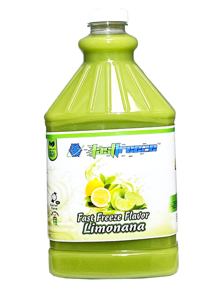Fast Freeze Limonana Granita Syrup 6 x 1/2