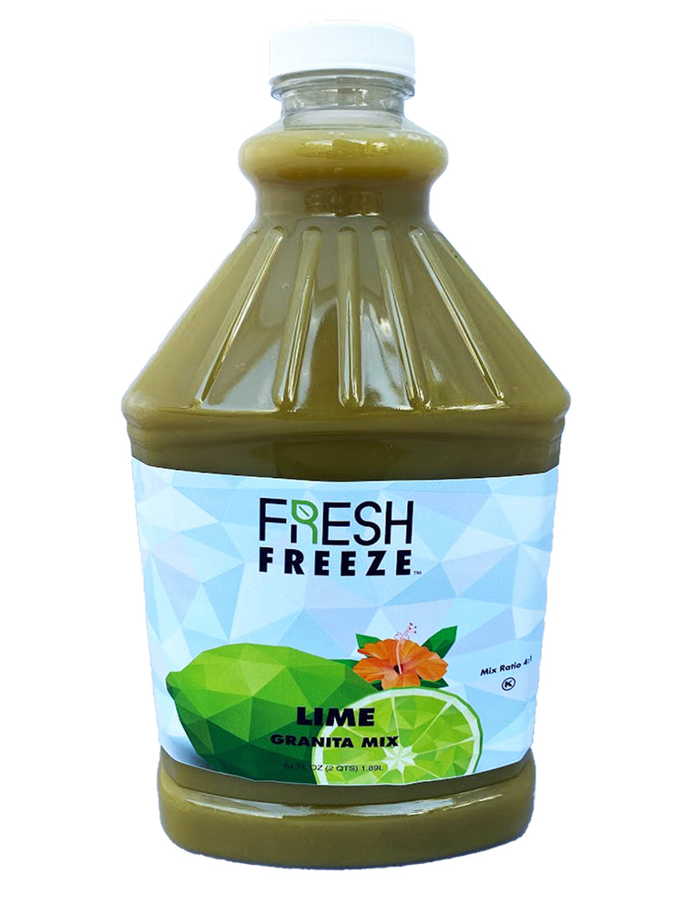 Fresh Freeze Lime Granita Syrup 6 x 1/2