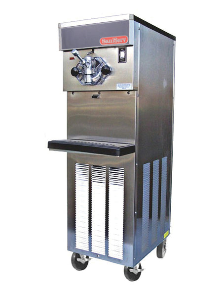 SaniServ 414 Floor Model, High Volume Soft Serve Ice Cream / Yogurt Machine with AccuFreeze Control