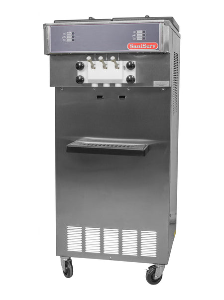 SaniServ 527 Floor Model, Medium Volume, Twist Soft Serve Ice Cream / Yogurt Machine with AccuFreeze Control