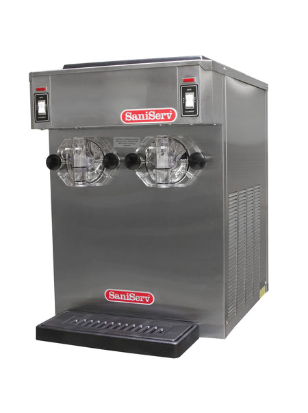SaniServ 791 Twin Flavor Counter Model Medium Volume Frozen Beverage Cocktail Machine