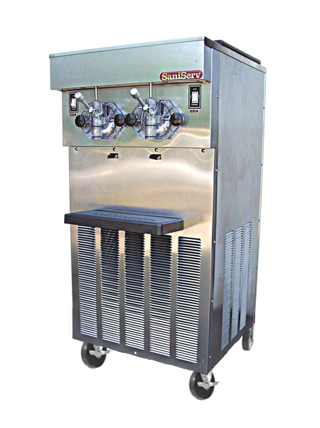 SaniServ 824 Floor Model, Higher Volume, Soft Serve Ice Cream / Yogurt and Shake Machine with AccuFreezer