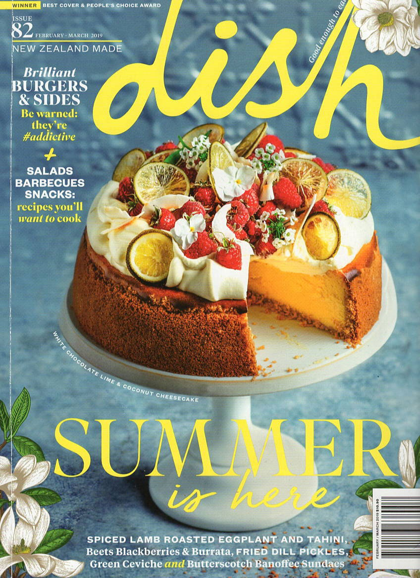 Daily Organics in Dish Magazine