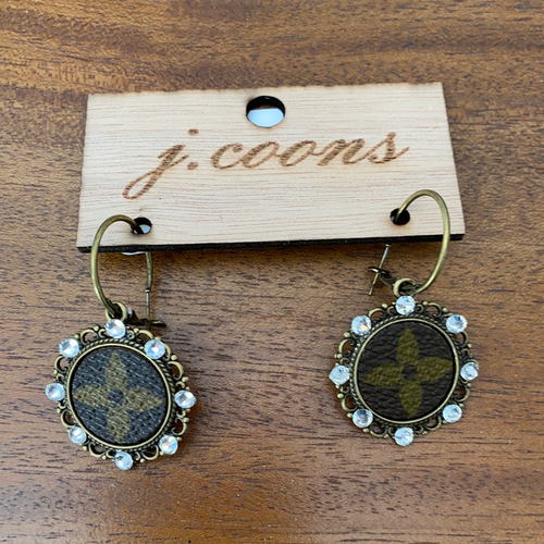 Upcycled Vintage  Earrings
