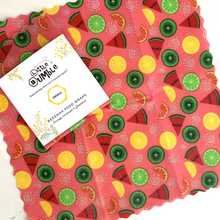 Load image into Gallery viewer, Little Bumble Beeswax Food Wrap