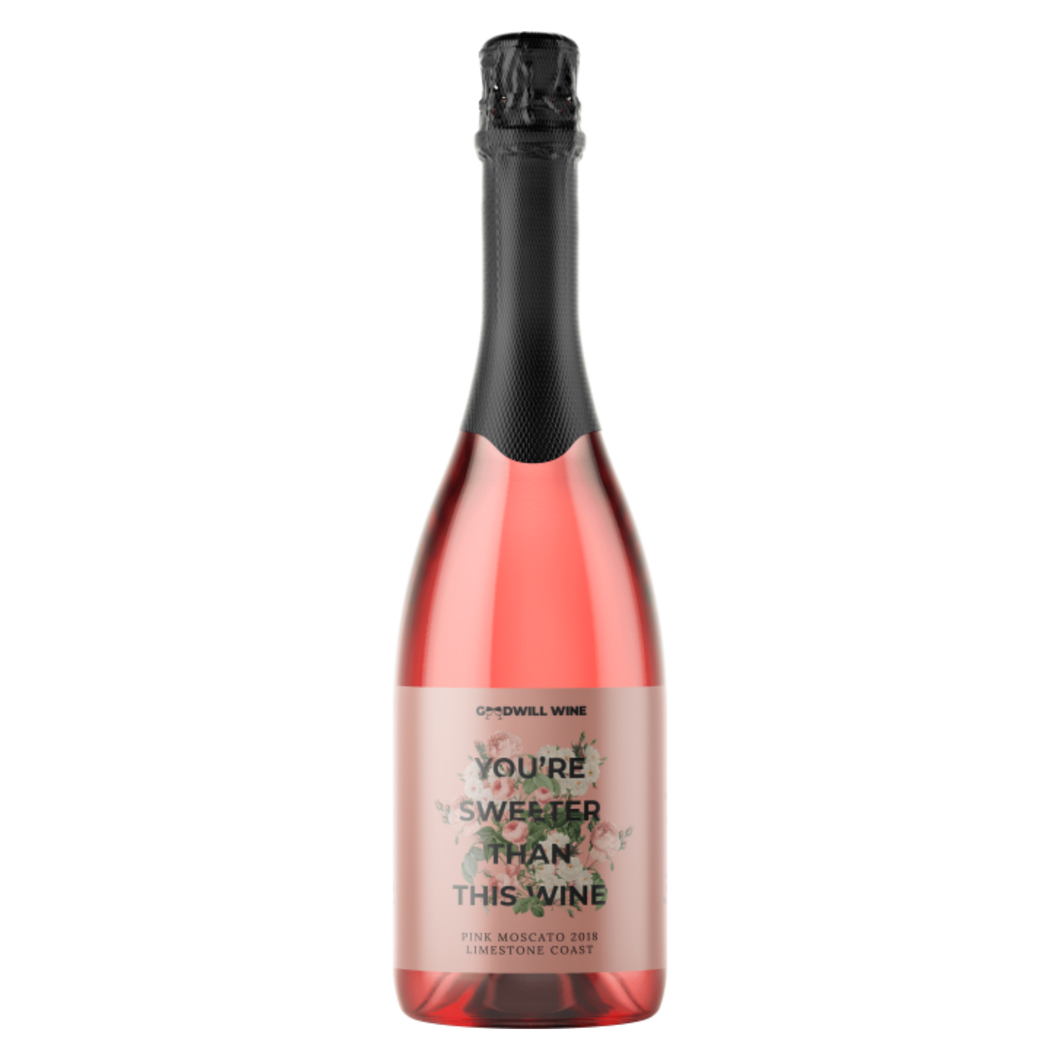 Goodwill Wine Pink Moscato 750ml