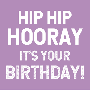 Card | Hip Hip Hooray It's Your Birthday!