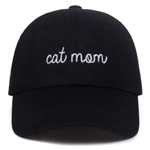 Guangzhou hat factory (AliExpress) CAT MOM Letter embroidery Baseball hat
