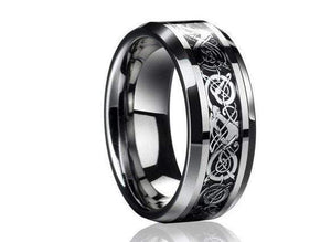 Monla Jewelry Store 6 / Black Stainless steel Dragon Ring