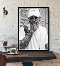 Load image into Gallery viewer, The KedStore 15x20 CM No Frame / Black Rapper R.I.P Mac Miller Swimming  Music Singer Star Poster Wall Art Canvas Painting