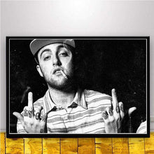 Load image into Gallery viewer, The KedStore 15x20 CM No Frame / Burgundy Rapper R.I.P Mac Miller Swimming  Music Singer Star Poster Wall Art Canvas Painting