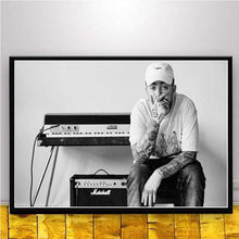 Load image into Gallery viewer, The KedStore 15x20 CM No Frame / YELLOW Rapper R.I.P Mac Miller Swimming  Music Singer Star Poster Wall Art Canvas Painting