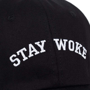 The KedStore 2017 new Stay Woke embroidery Unstructured Dad Hat Adjustable men women fashion Cotton baseball Cap
