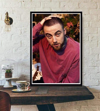Load image into Gallery viewer, The KedStore 20x25 CM No Frame / Plum Rapper R.I.P Mac Miller Swimming  Music Singer Star Poster Wall Art Canvas Painting