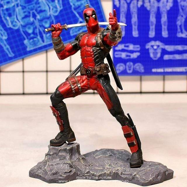 The KedStore 26cm Deadpool 2 Action Figure Anime Decoration PVC Collection Figurine mini Toys model for children