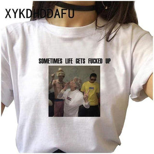 The KedStore 311 / M Lil Peep Women T Shirt Hip Hop Funny Ulzzang Cry Baby T-shirt | TheKedStore