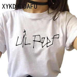 The KedStore 313 / M Lil Peep Women T Shirt Hip Hop Funny Ulzzang Cry Baby T-shirt | TheKedStore