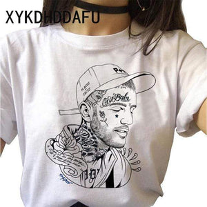 The KedStore 314 / L Lil Peep Women T Shirt Hip Hop Funny Ulzzang Cry Baby T-shirt | TheKedStore
