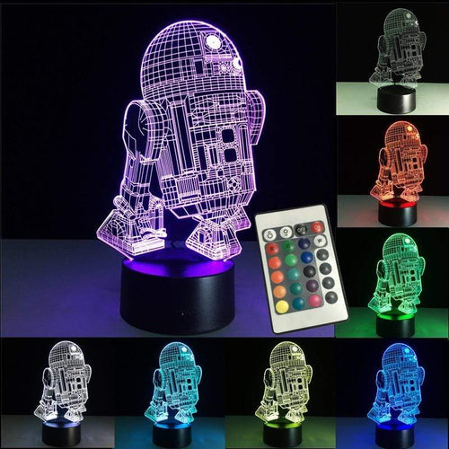 The KedStore 3D Night Lights Led Lamp Star Wars USB LED Lighting Luminaria Table Lamp | TheKedStore