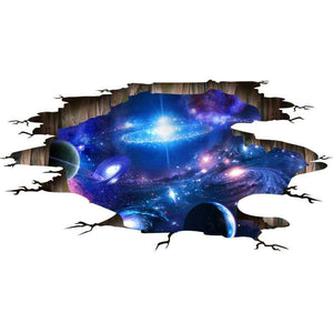 The KedStore 3D Wall Stickers Cosmic Galaxy Planet Wall Decor Outer Space Ceiling Decoration | TheKedStore