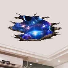 Load image into Gallery viewer, The KedStore 3D Wall Stickers Cosmic Galaxy Planet Wall Decor Outer Space Ceiling Decoration | TheKedStore