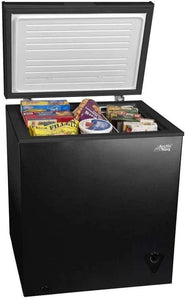The KedStore 5 cu ft Chest Freezer for Your House, Garage, Basement, Apartment, Kitchen, Cabin, Lake House, Timeshare, or Business