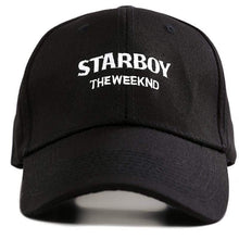 Load image into Gallery viewer, The KedStore Baseball Snapback Hip Hop Cap 100% Cotton The Weeknd Starboy and Stargirl Hat XO Dad Hat | TheKedStore