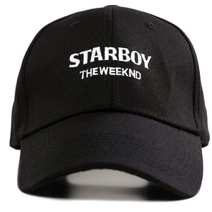 The KedStore Baseball Snapback Hip Hop Cap 100% Cotton The Weeknd Starboy and Stargirl Hat XO Dad Hat | TheKedStore