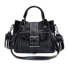 Load image into Gallery viewer, The KedStore Black / 28cm Fashion Handbag - Vintage style
