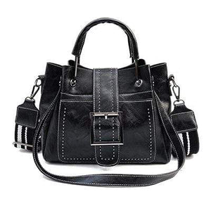The KedStore Black / 28cm Fashion Handbag - Vintage style