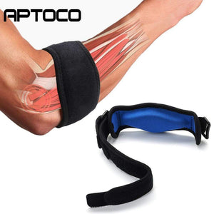 The KedStore Black Elastic Elbow Brace Sleeve Pads for Lateral Pain Protection