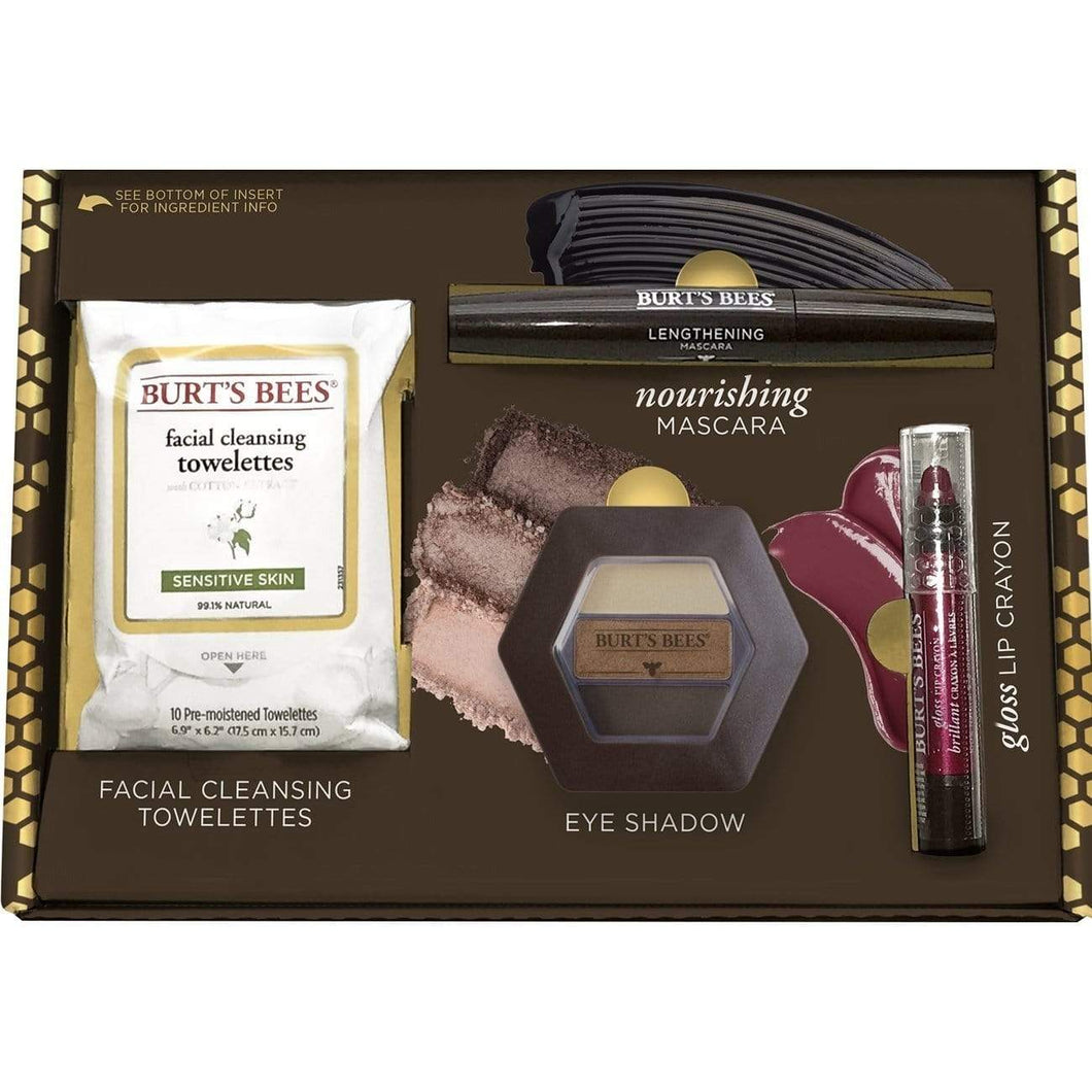 The KedStore Burt's Bees Boldly Beautiful Gift Set, 4 Products in Giftable Box