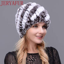 Load image into Gallery viewer, The KedStore COLOR1 Real fur hat handmade
