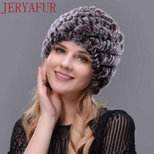 Load image into Gallery viewer, The KedStore COLOR5 Real fur hat handmade