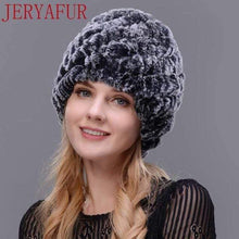 Load image into Gallery viewer, The KedStore COLOR6 Real fur hat handmade