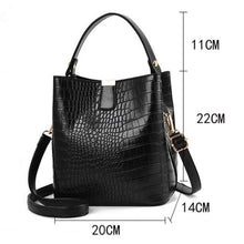 Load image into Gallery viewer, The KedStore Crocodile Pattern Handbag Shoulder Messenger Bag