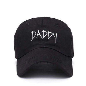 The KedStore DADDY black 2017 new DADDY Dad Hat Embroidered Baseball Cap Hat men summer Hip hop cap hats