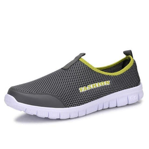 The KedStore Dark grey / 4.5 Women Light Sneakers Breathable Mesh Casual Shoes Walking Outdoor Sport Shoes