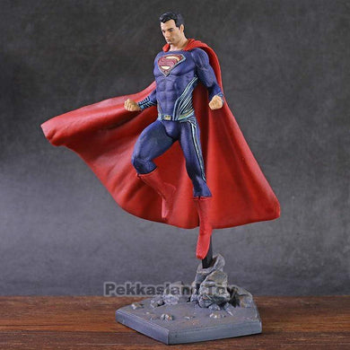 The KedStore DC Superman Figure IRON STUDIOS Justice League Superman Action Figure Super Man Collectible Model Toy