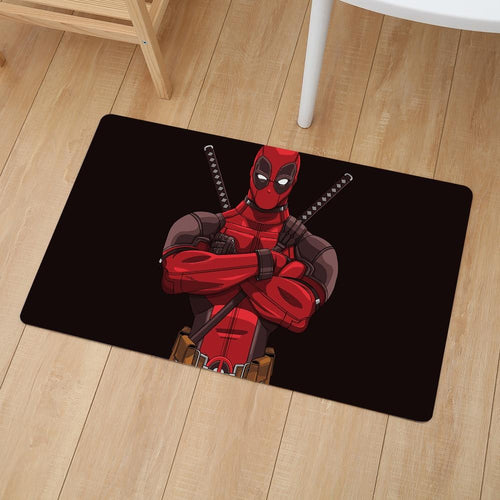The KedStore Deadpool Home Doormat Insole Kitchen Carpet Bathroom Anti-slip Floor Mat - 30x19 inches
