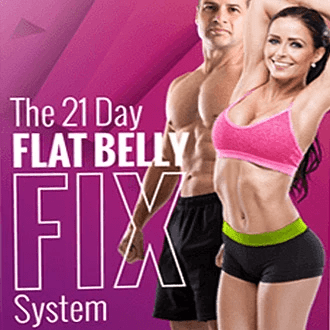The KedStore e-business Flat Belly Fix - 21-day rapid weight loss system
