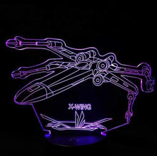 Load image into Gallery viewer, The KedStore E / Remote Touch Switch Star Wars 3D USB LED Lamp Death Star lava Night Lamp