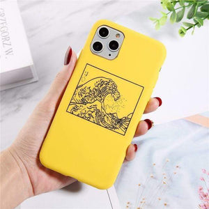 The KedStore For iPhone 11 Pro / 7705Y Lovebay Silicone Phone Cases For iPhone 11 Pro SE 2020 X XR XS Max 8 7 6 6s Plus 5s | TheKedStore
